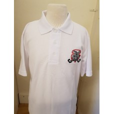 Bexley Grammar PE Polo (Red-Collins)