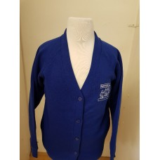 Eglinton Cardigan with school logo