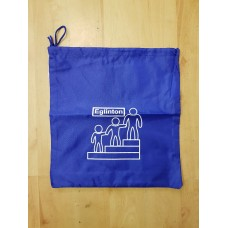 Eglinton PE Bag royal with school logo