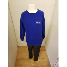 Bannockburn  Sweatshirt with school logo