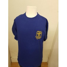 Birkbeck Primary PE T-SHIRT ROYAL