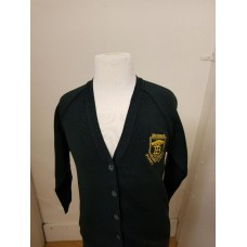 Birkbeck Cardigan with school logo