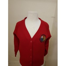 Cardwell Cardigan with school logo