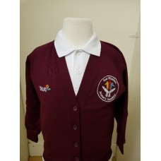 East Wickham Cardigan with school logo