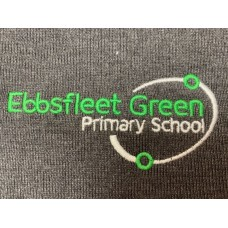 Ebbsfleet Green Cardigan Grey with school logo