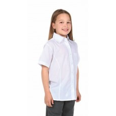 White Short Sleeve Blouses 2 PACK