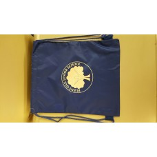 Burnt Oak PE bag with school logo BLUE