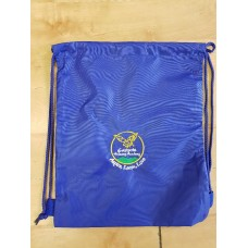 Featherby Infant and Nursery PE Bag royal with school logo