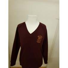 Holy Trinity V-Neck  Jumper with logo