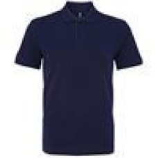 Riverston Nursery Navy polo with school logo