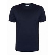 woodside Navy PE tshirt with logo