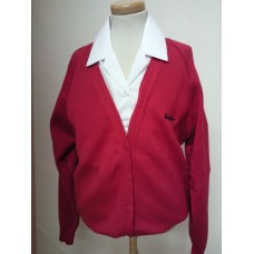 Blackfen Red Cardigan