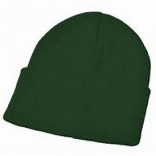 Winter hat Green with school logo