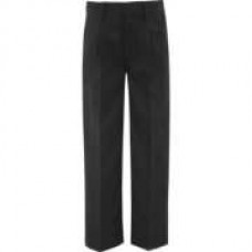Stocky Fit Charcoal Trouser