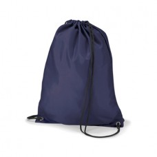 PE Bag navy with school logo