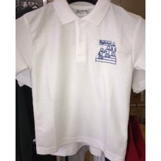 Eglinton Polo Shirt with school logo