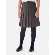 King Henry Grey All Round Knife Pleat Skirt