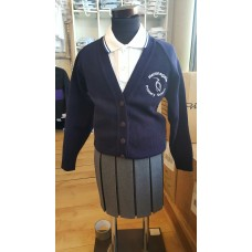 Heronsgate Cardigan with school logo