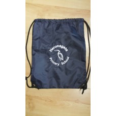 Heronsgate PE Bag navy with school logo