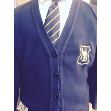 Notre Dame cardigan with logo