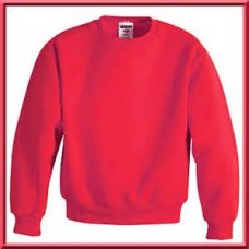 Timbercroft  Red PE Sweatshirt NEW  with school logo