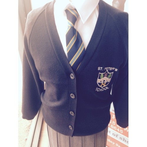 Heronsgate Primary School: St Peter's Cardigan With Logo NEW For 2015